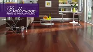 Prefinished Laminate Flooring Bellawood Prefinished Hardwood Flooring Youtube