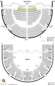 orchestra floor plan mccarter theatre