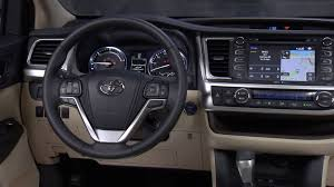 inside toyota highlander 2014 toyota highlander hybrid interior