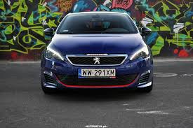 peugeot 308 gti blue peugeot 308 gti 272 km pomiary autowizja pl motoryzacja