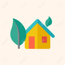 Eco Friendly House by Eco Friendly House Ecology Icon Flat Design Vector Eps 10