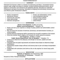 Civil Resume Sample by Impressive And Effective Civil Engineer Resume Template Samples