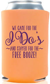 wedding koozie ideas wedding koozie cups wcm