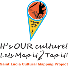 St Lucia Map Cultural Development Foundation Cdf St Lucia Promoting Saint