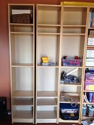 Free Standing Bookcases Free Standing Billy Lockers Ikea Hackers Ikea Hackers