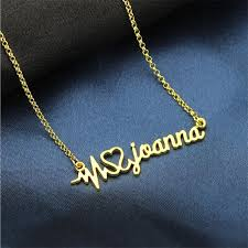 customized name necklace aliexpress buy silver style customized name