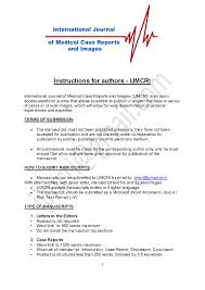 cover letter publication submission ijmcri case reports and images google