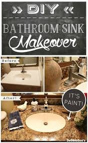 best ideas about diy bathroom countertops pinterest how get the look granite countertops