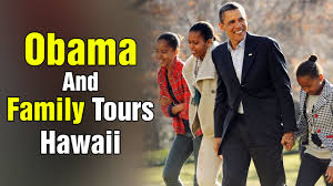 Obama Hawaii by Us President Obama And Family Tours Hawaii On Vacation Studio N