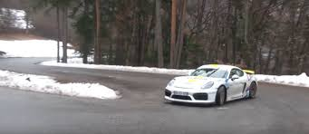 porsche rally car porsche cayman gt4 rally car is real driven by 60yo french rally