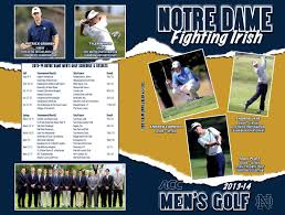 2013 14 notre dame men u0027s golf media guide by chris masters issuu