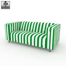 sofa klippan ikea klippan sofa 3d model hum3d