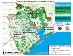 Map Of Conroe Texas Gulf Houston Regional Conservation Plan