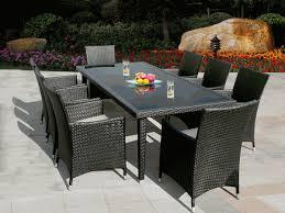 Wicker Style Outdoor Furniture by Outdoor Wicker Patio Set