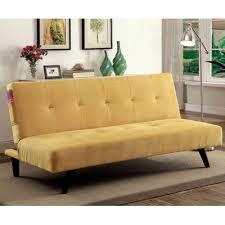 a u0026j homes studio tufted flannelette sleeper sofa u0026 reviews wayfair