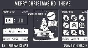 nokia 2690 black themes merry christmas hd theme for nokia c1 01 c1 02 c2 00 107 108