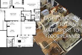 floor planner floor planner matterport tutorial 2d floor plan 3d floor