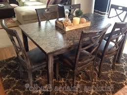 Pottery Barn Dining Room Tables Metal Support Bracket With Turnbuckle Details Pottery Barn Dining