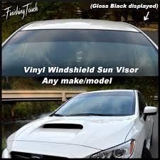 jdm subaru stickers vinyl windshield sun visor window shade vinyl banner decal