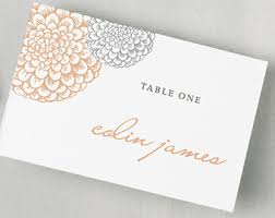 Table Card Template by Printable Place Card Template Instant Download Gold Dots
