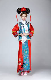 qing dynasty costume hanfu dress ancient chinese costume costume
