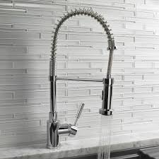 Faucet Design The Benefits Of A Pre Rinse Kitchen Faucet Design Necessities