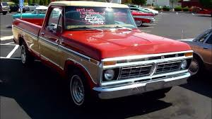Classic Ford Truck Bumpers - 1977 ford f100 ranger regular cab pick up truck 351 v8 youtube
