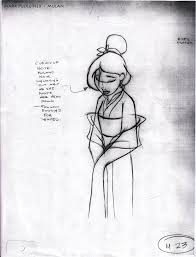 pudleiner mulan drawings sketches art