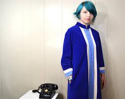 Vanity Fair Housecoat Ankle Length Coat Etsy