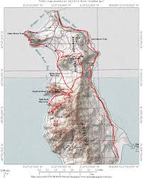 Utah State Parks Map by Antelope Island Biking Trails