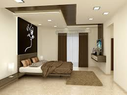 Modern Master Bedroom Design Ideas With Luxury Lamps White Bed - Bedroom ceiling design