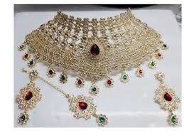 wedding necklace designs bridal imitation necklace set jewellery designs indian