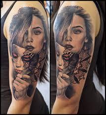 tattoo portraits on arm artist mircea fearless