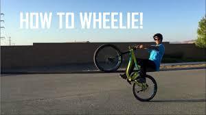 How To Finally Start Bike by How To Wheelie A Mountain Bike In 3 Easy Steps Mountain Bike