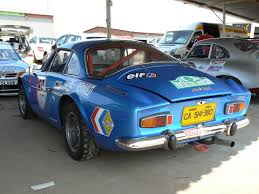 alpine a106 alpine sold for record price in s a renault clubs of south africa