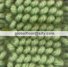 loop rugs twisted loop wool shaggy solid green colour rug wool