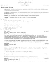 Criminal Defense Attorney Resume Sample by Legal Resume Samples