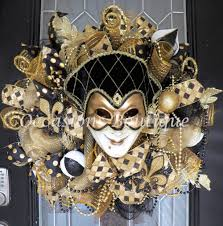 mardi gras wreath mardi gras decoration front door wreaths