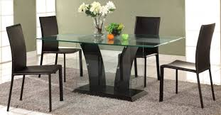 Rectangular Glass Top Dining Room Tables Dining Table Rectangular Glass Top Dining Table Sets Rectangular