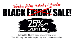 uprinting offers 25 everything this thanksgiving weekend