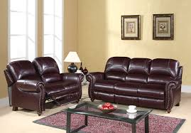 Leather Reclining Sofas And Loveseats by Leather Reclining Sofa And Loveseat And Leather Pushback Reclining