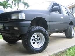 wheel isuzu rodeo black buscar con google isuzu rodeo
