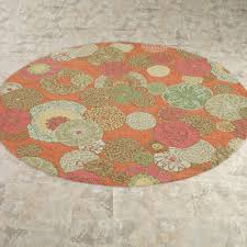 Floral Round Rugs Round Indoor Outdoor Rugs Floral Perfect Round Indoor Outdoor