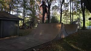 backyard ramp session youtube