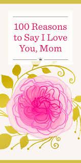 100 reasons to say i love you mom hallmark ideas u0026 inspiration