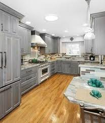 Grey Kitchen Cabinet Ideas 30 Gray And White Kitchen Ideas Gray Cabinets White Granite And