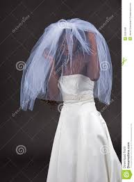 beautiful black woman in a wedding dress royalty free stock photos