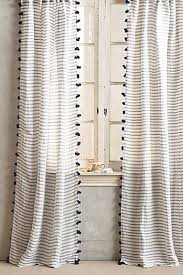 White Curtains With Yellow Flowers Curtains U0026 Drapes Anthropologie