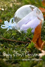 the most beautiful baby u0027s first christmas memory ornament
