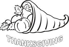 happy thanksgiving coloring pages coloringsuite